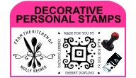 DECORATIVE PERSONAL STAMPS