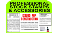 PROFESSIONAL ACCESSORIES<BR>& STOCK STAMPS