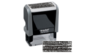 46085 - SECURITY SELF INKING STAMP