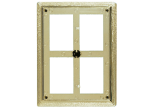"ABF68 - ABF68<BR>PLAQUE MOUNT<BR>PLASTIC FRAME<BR>6"" x 8""<BR>HOLDS 5"" x 7""<BR>PLATE"