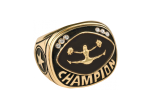 CHR24G - CHR24G<BR>CHAMPIONSHIP RING<BR>GOLD CHEER