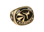 CHR27G - CHR27G<BR>CHAMPIONSHIP RING<BR>GOLD MARTIAL ARTS