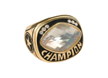 CHR32CLR - CHR32CLR<BR>CHAMPIONSHIP RING<BR>CLEAR GLASS GEM