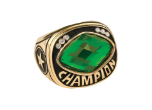 CHR32GN - CHR32GN<BR>CHAMPIONSHIP RING<BR>GREEN GLASS GEM
