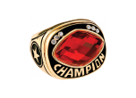 CHR32RD - CHR32RD<BR>CHAMPIONSHIP RING<BR>RED GLASS GEM