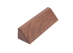 "DS10 - DS10<BR>WALNUT DESK WEDGE<BR>USE WITH 2"" X 10"" NAMEPLATE"