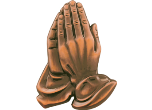 "MLT71 - MTL71<BR>PLAQUE MOUNTS<BR>PRAYING HANDS<BR>4 3/4""<BR>AVAILBLE IN GOLD-SILVER-BRONZE"