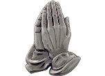 "MTL61 - MTL61<BR>PLAQUE MOUNTS<BR>PRAYING HANDS<BR>2 3/4""<BR>AVAILBLE IN GOLD-SILVER-BRONZE"