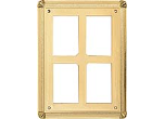 "RP89763 - RP89763<BR>PLAQUE MOUNT<BR>PLASTIC FRAME<BR>6"" x 8""<BR>HOLDS 5"" x 7""<BR>PLATE"
