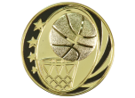 RP909981 - RP909981<BR>PLAQUE MOUNT<BR>BASKETBALL STARS<BR>3""