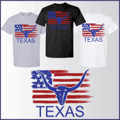 TEXAS TEE T-SHIRT APPAREL